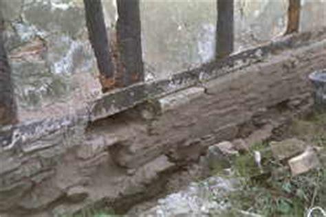 Zementmörtel Als Fundament by Fachwerkhaus Fundamente