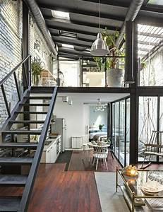 deco salon sol en parquet fonce en bois salon moderne With deco avec parquet foncé
