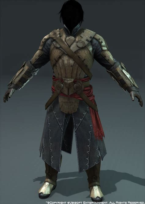 character art assassins creed iv black flag polycount