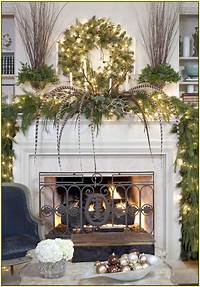 good looking mantel decoration ideas Good Looking Christmas Mantel Decorating Pictures 21 ...