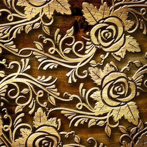 carved roses custom wallpaper mural print  jw shutterstock