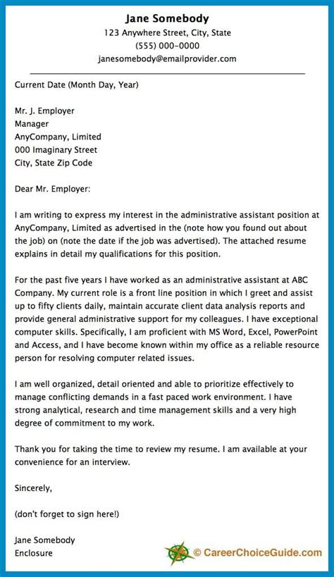 ideas  cover letter format  pinterest