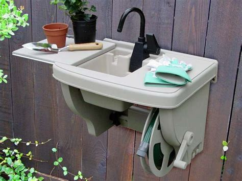 outdoor kitchen sink plumbing 28 best images about outdoor sinks on gardens 3869