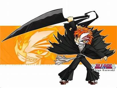 Ichigo Hollow Bleach Anime Chibi Mask Fan