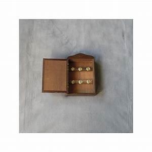 Boite A Cles Bois : une petite boite cl tout en bois avec sur la porte une d co miroir ~ Melissatoandfro.com Idées de Décoration