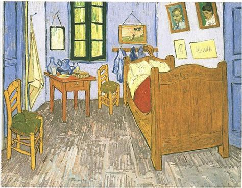 vincents bedroom  arles  vincent van gogh  painting