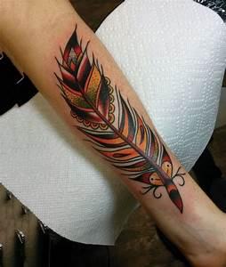 Tatouage Plume Indienne Signification : 16 plus belles id es pour un tatouage de plume ~ Melissatoandfro.com Idées de Décoration