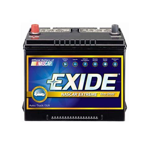 exide extreme  auto battery   home depot