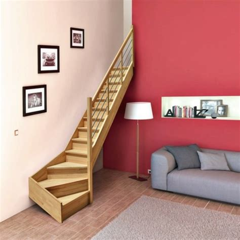 escalier deux quart tournant pas cher o 249 trouver le meilleur escalier gain de place