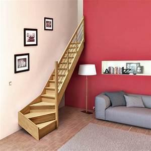 Escalier Double Quart Tournant Pas Cher : o trouver le meilleur escalier gain de place ~ Premium-room.com Idées de Décoration