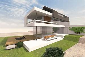 Moderne Häuser Mit Satteldach : haus mit satteldach moderne architektur wohndesign ~ Lizthompson.info Haus und Dekorationen