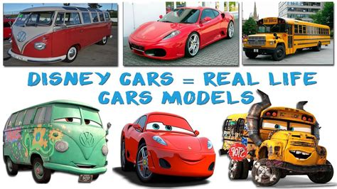 cars characters  real life episode  disney cars real