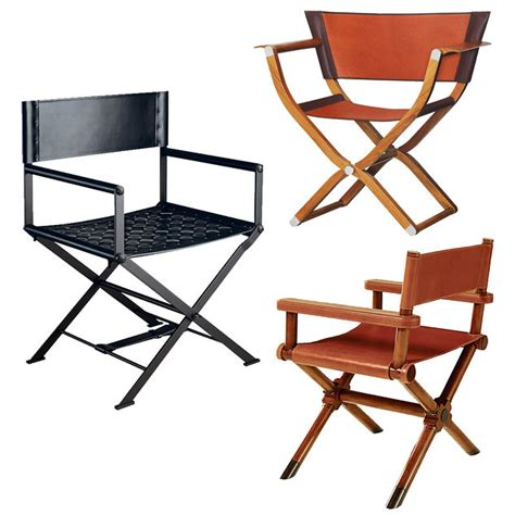 the director s chair gets a luxe upgrade wsj