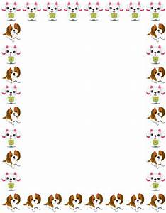 Puppy Border Clipart #2027898