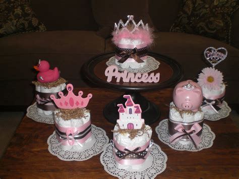 Princess Diaper Cake Baby Shower Centerpieces Other