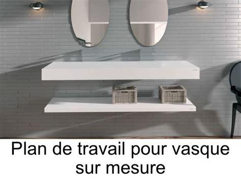 pose vasque sur plan plan de travail salle de bain chaios