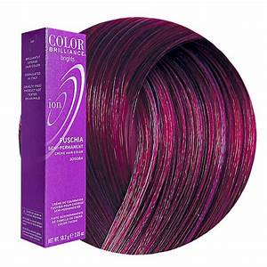 Try Ion Color Brilliance Brights Semi Permanent Hair Color