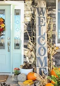 Herbstdeko Holz Selber Machen : dekoration herbst herbstliche stimmung f r sich und die ~ Whattoseeinmadrid.com Haus und Dekorationen