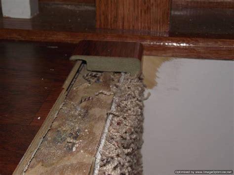 installing transition laminate flooring to carpet installing laminate on top stair to carpet
