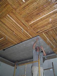 Bamboo Ceiling At Mangaratiba