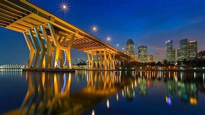 4k Wallpapers Ultra Background Lights Wallpapersafari Bridge