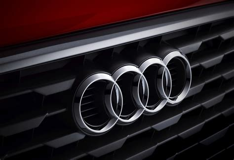first audi logo audi sales down year on year in the first quarter due to