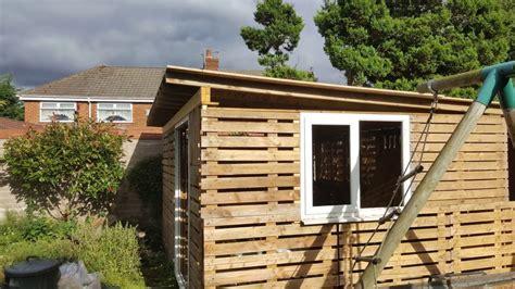 wood shed build   pallets bruin blog
