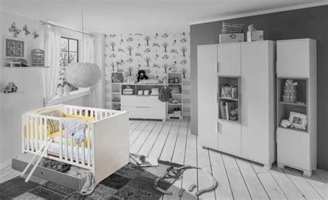 chambre en gris et blanc lit bebe joris chambre bebe blanc gris