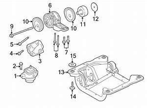 2012 Land Rover Range Rover Automatic Transmission Mount
