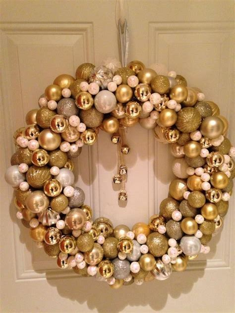 how to make wreath with christmas balls christmas ball wreath 183 how to make a bauble wreath 183 other on cut out keep