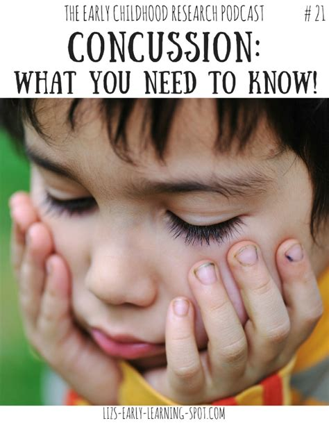 concussion in children what you need to liz 514   Concussion head injury young children