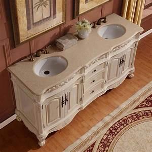 72, U0026quot, Double, Bathroom, Vanity, White