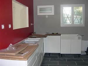 peinture mur cuisine tendance 10 couleur mur cuisine With couleur murs cuisine avec meubles blancs