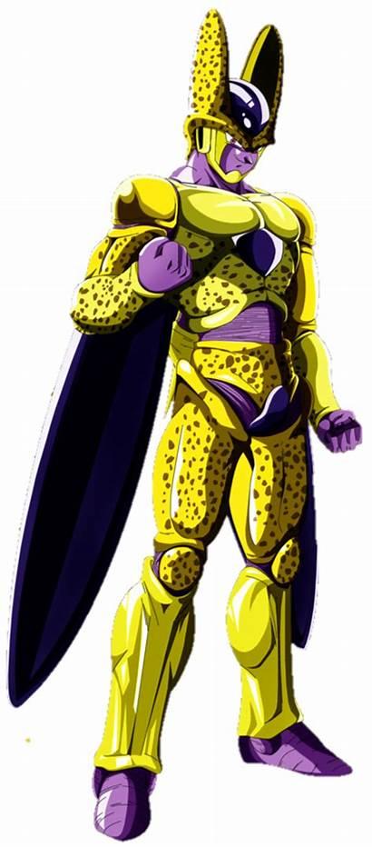 Cell Golden Zamasu Fusion Render Neoseeker Dragonball