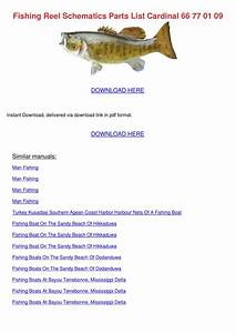 Fishing Reel Schematics Parts List Cardinal 6 By