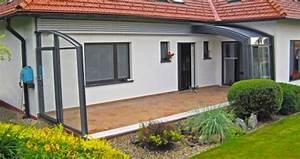 Abri De Terrasse Rideau : veranda retractable ou telescopique ~ Premium-room.com Idées de Décoration