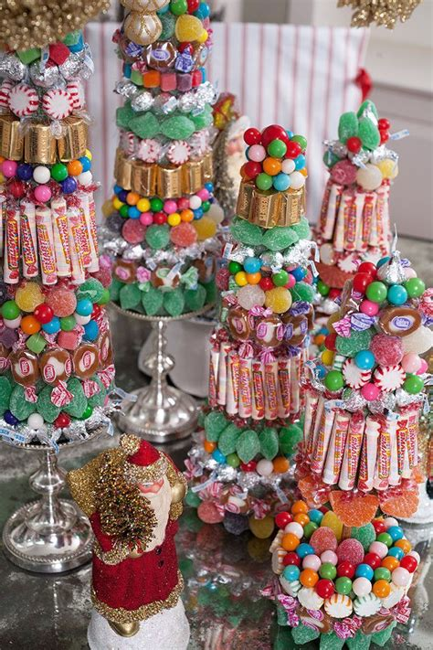 diy christmas candy centerpieces  amazing  easy