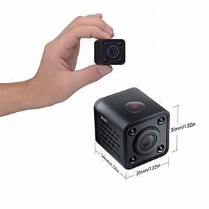 Mini IP camera,Decoer Ring 1080P HD Wifi Wireless with ...