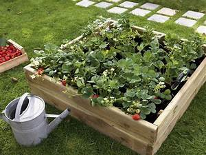 Carre De Jardin Potager : atelier rue verte le blog un potager en hauteur en ~ Premium-room.com Idées de Décoration