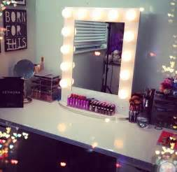 Makeup Desk With Light Bulbs by 17 Best Images About Vanity Ideas On Lighted