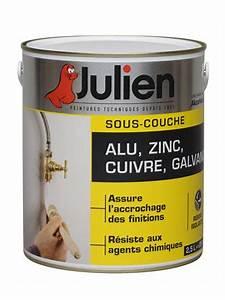 Sous Couche D Accrochage Sur Peinture Glycero : sous couche alu zinc cuivre galvanis peintures julien ~ Melissatoandfro.com Idées de Décoration