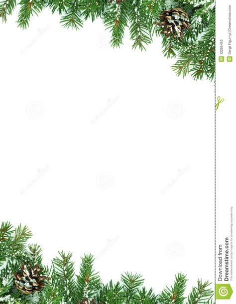 christmas framework  snow stock image image