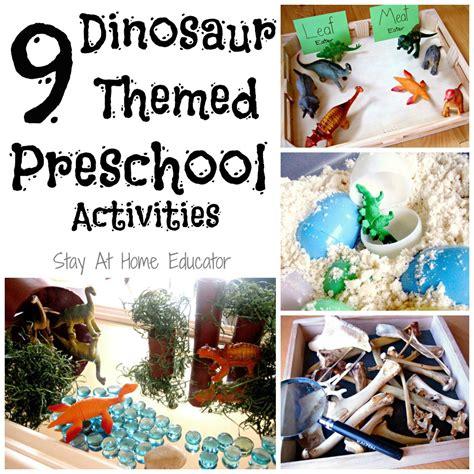 nine dinosaur themed preschool activities 872 | 9 Dinosaur Themed Preschool Activities Stay At Home Educator2 1000x1000