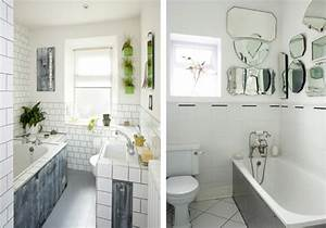 la salle de bains blanche design en 75 idees With salle de bain design avec fleurs synthétique décoration