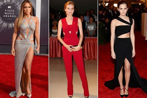 Hollywood Red Carpets Are All About Cut Out Dresses Now