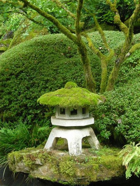 Japanischer Garten Moos by Moss Covered Ishi Doro Exterior Outdoors Garden
