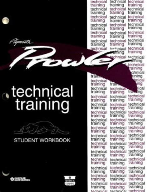 auto manual repair 1997 plymouth prowler parking system plymouth prowler technical training student workbook manual 1997