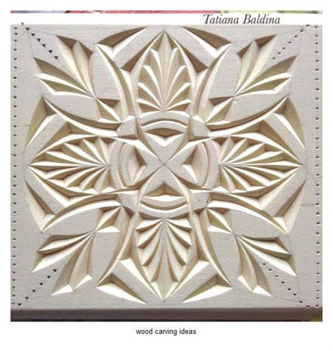 chip wood carving pattern  beginner  chip