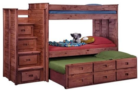raven hill twin  twin combo stairway bunk bed
