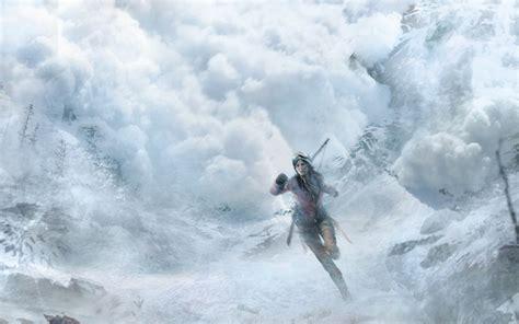 lara croft video games artwork rise   tomb raider